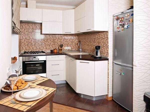 фотообои для маленькой кухни: