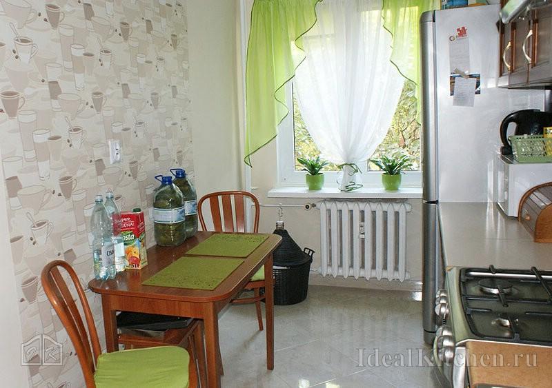 пример зонирования на кухне