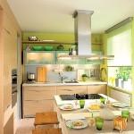Интерьер маленькой кухни: поднимаем настроение