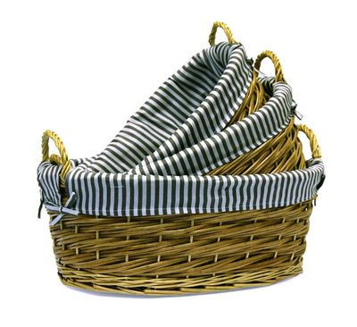 Практичные плетеные корзины