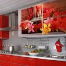 """Кухонный гарнитур с фотопечатью на фасадах от """"Форема"""""""