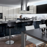 Crystal Scavolini black-white