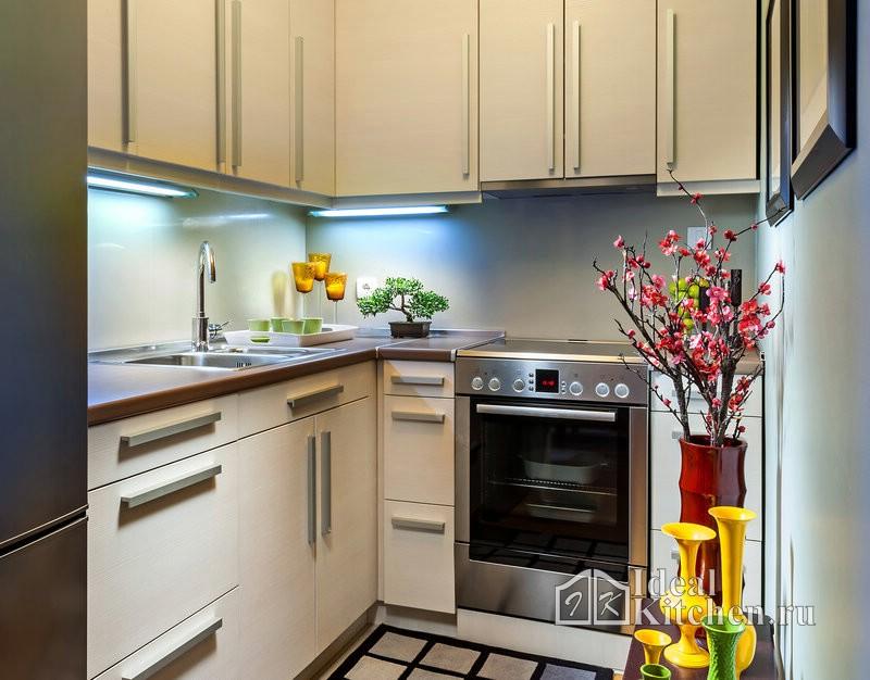 Узкие кухни фото дизайн
