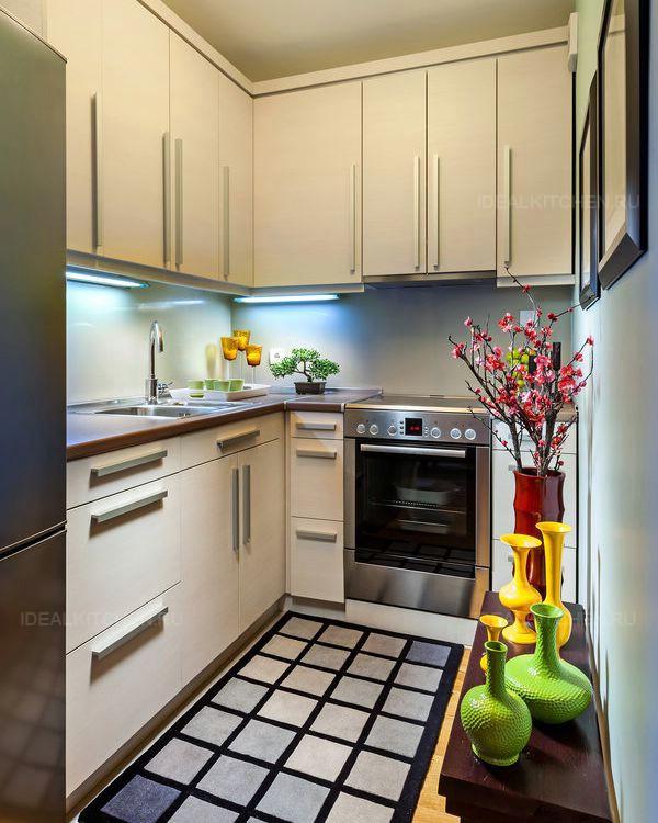 Шторы для узкой кухни фото