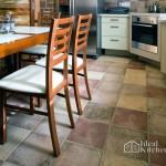 Укладка напольной плитки на кухне