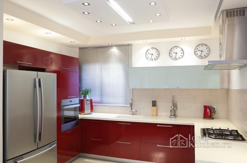 алюминиевые жалюзи на кухне