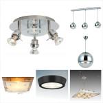 варианты светильников для кухонь в стиле хай-тек