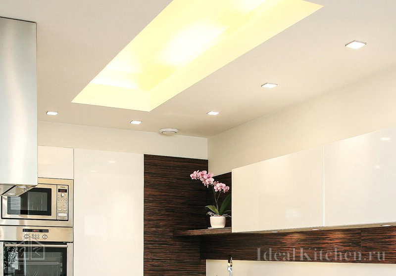 световой короб на потолке