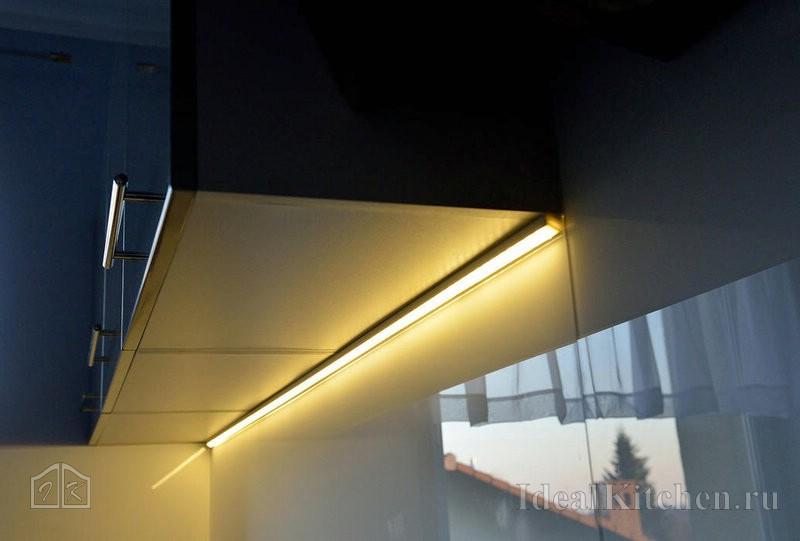 подсветка столешницы светодиодной лентой