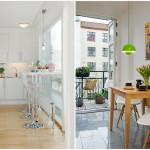 барный стол стойка на маленькой кухне