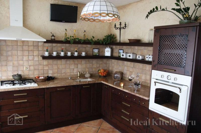 Отделка стен кухни штукатуркой