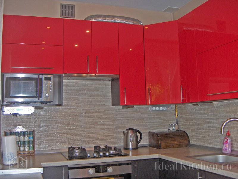 кухня 6 кв. метров в хрущевке с газовой колонкой