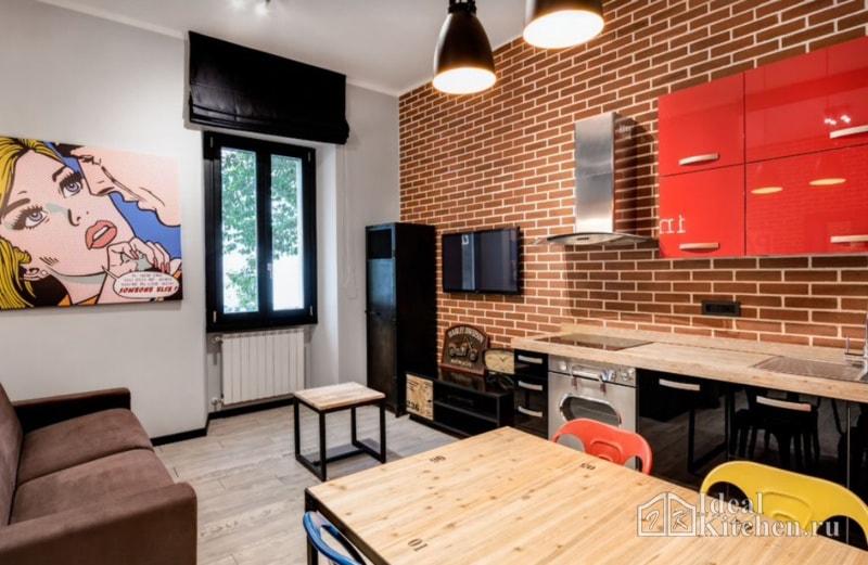 дизайн небольшой квартиры-студии