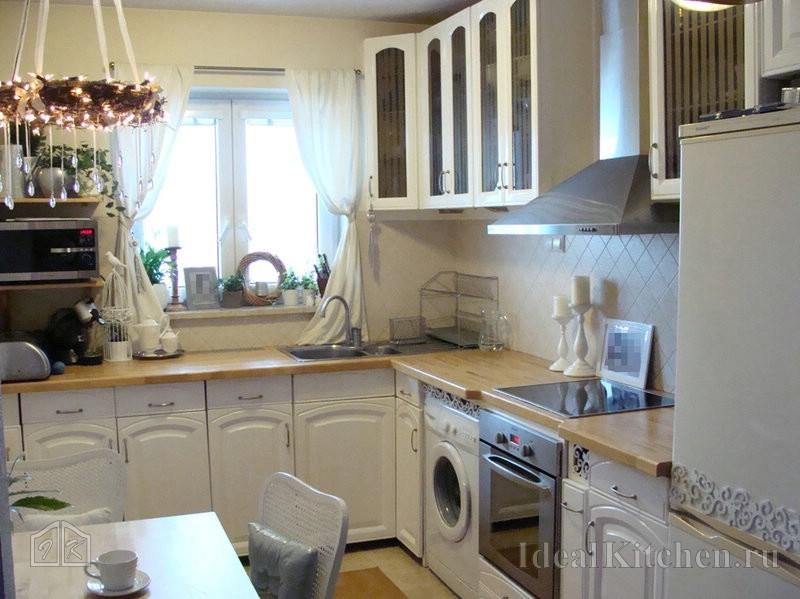 фото дизайна кухни 9 кв. м