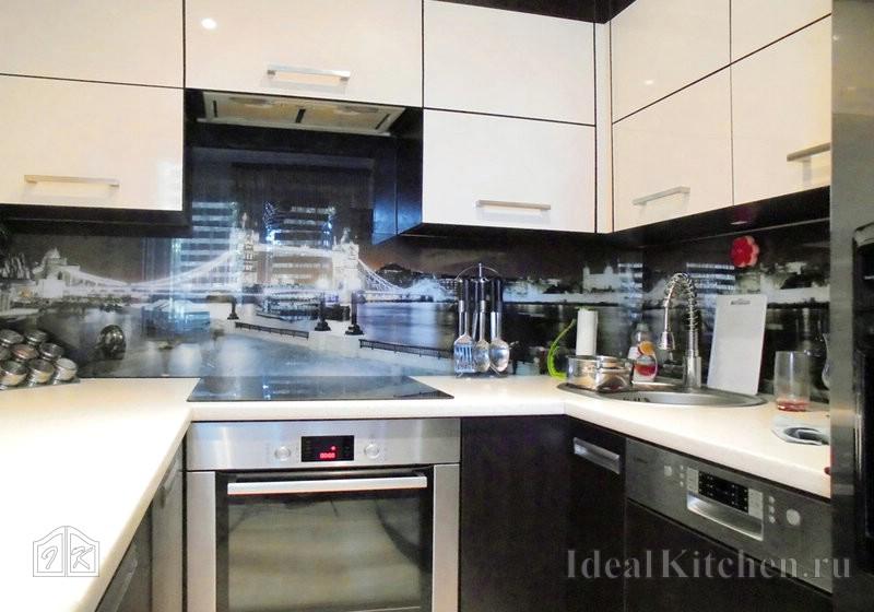 еще одна идея дизайна кухни 6 кв. метров