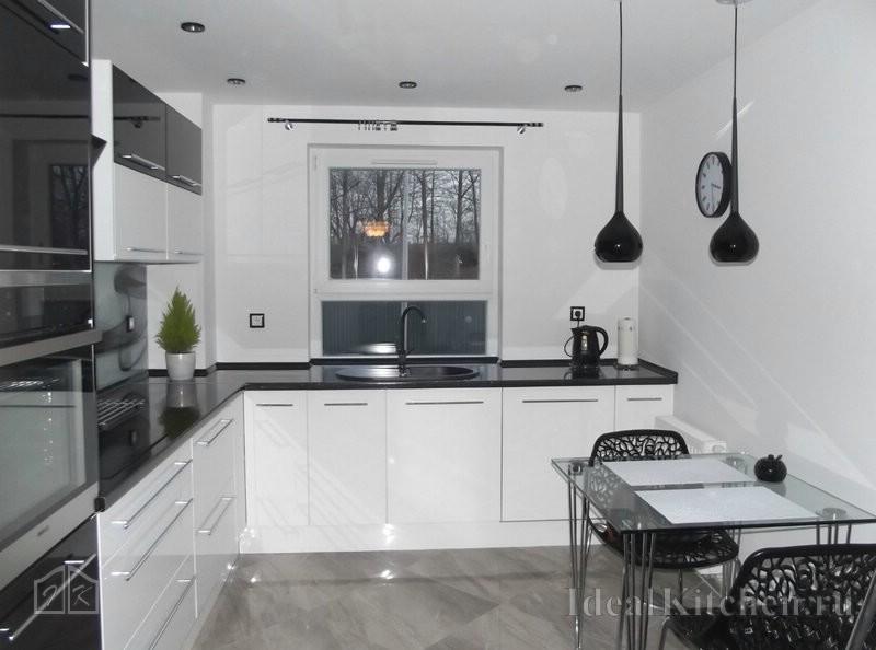 фото дизайна кухни 12 кв. м