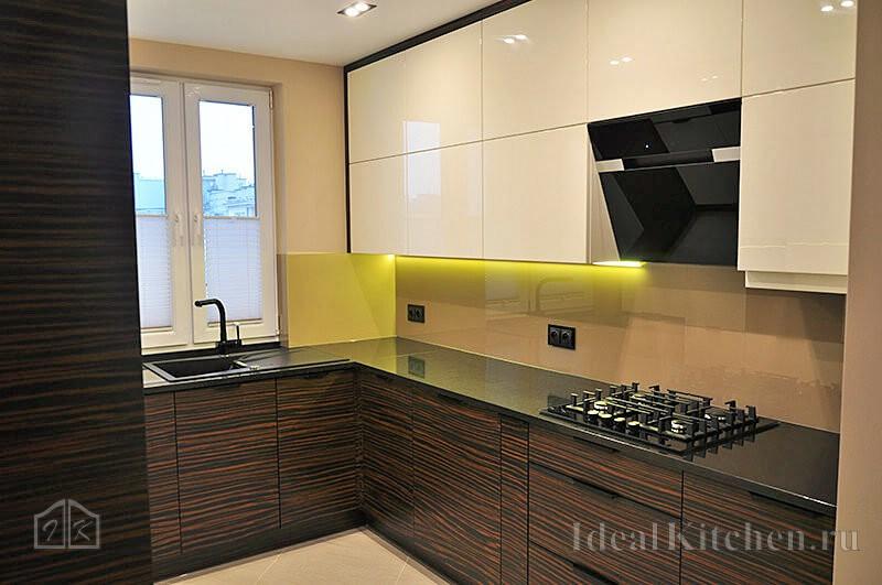 лаконичная кухня в современном стиле для мужчины