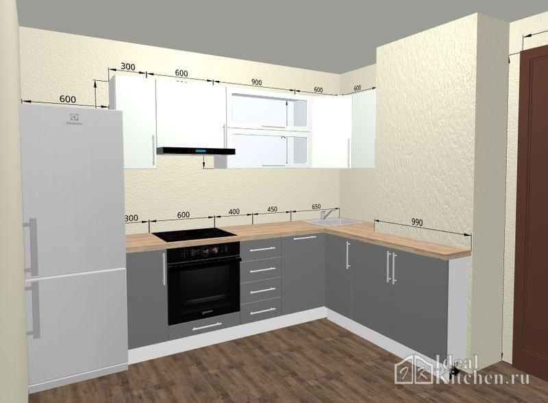 конструктор кухни онлайн 3d проекты расчет цены бесплатно в